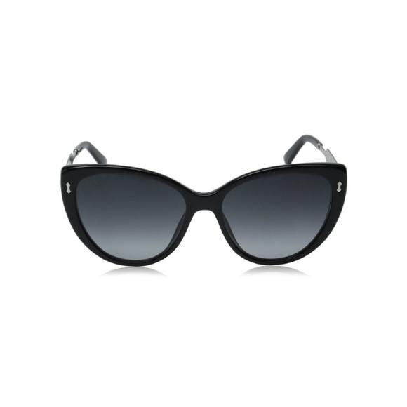 bc4562e0d9f Gucci Accessories - GUCCI Blk Palladium dark Gray Gradient Sunglasses